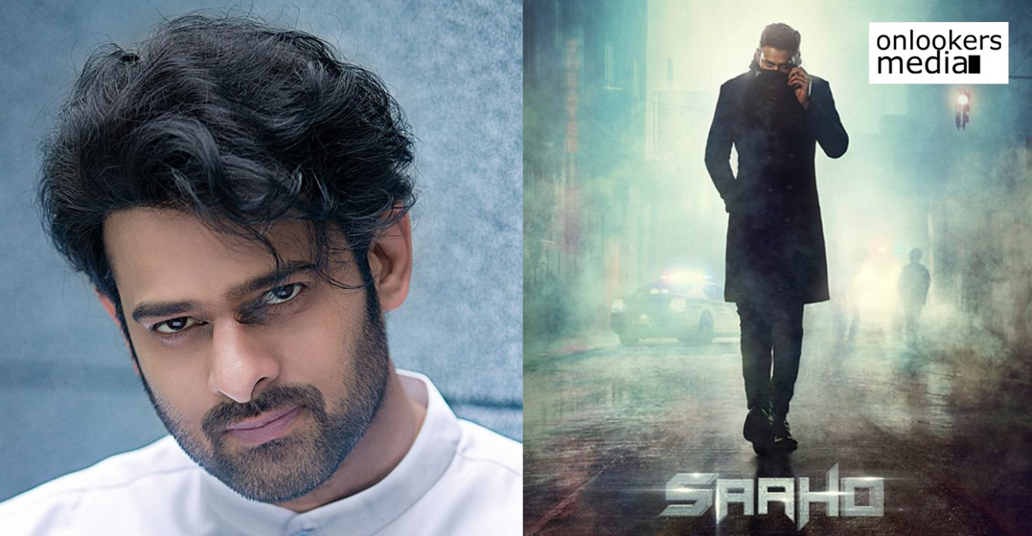 Theatrical rights of Prabhas' Saaho bagged by T Series for ...