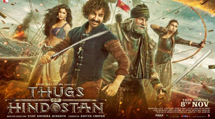 Thugs of Hindostan first poster, trailer date out: Amitabh ...
