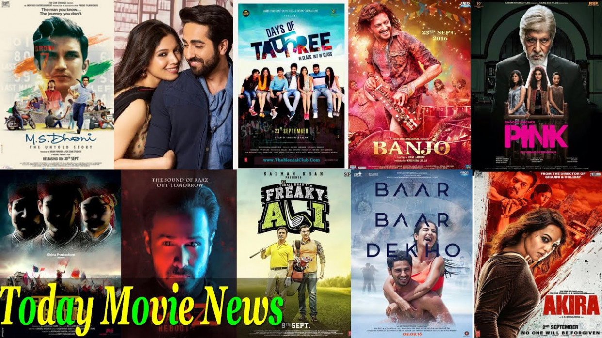 TODAY MOVIE NEWS - Top 10 Bollywood Movies Release In ...