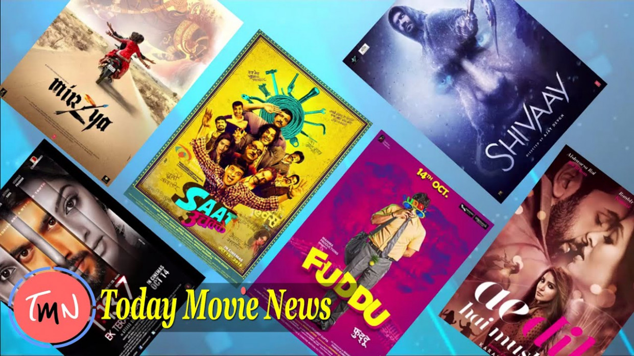 TODAY MOVIE NEWS - Top 6 Bollywood Movies Release In ...