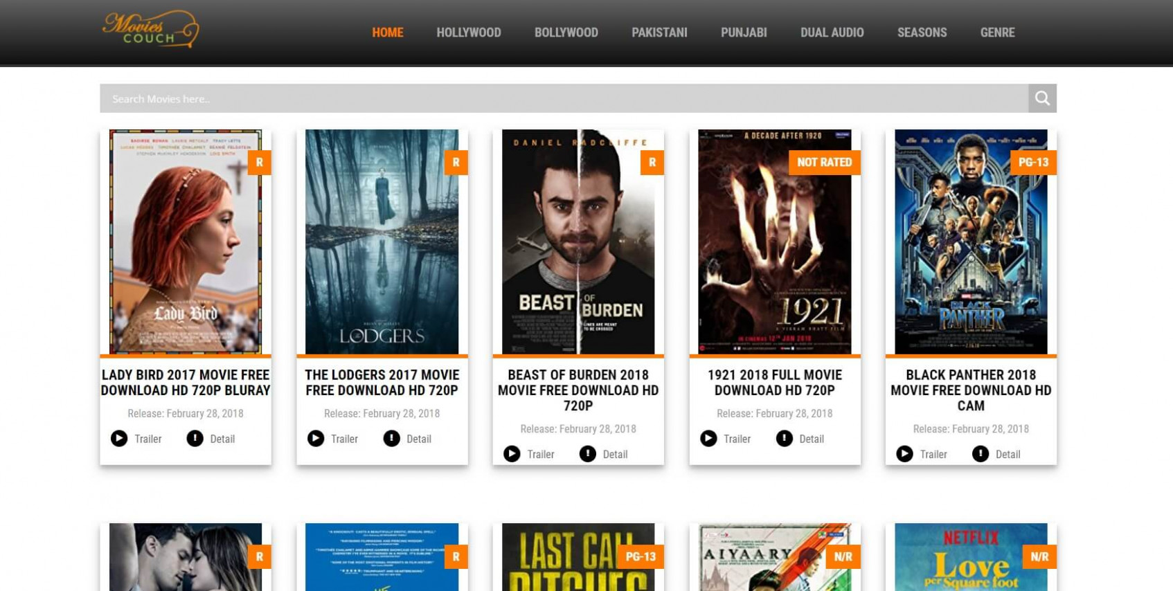 Top 10 Free Movie Download Sites in 2018