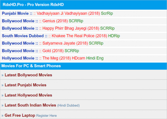 Top 10 Websites to Download New Hollywood Movies in Hindi