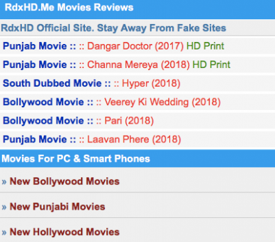 Top 11 Webites To Download New Hollywood Movies In Hindi ...
