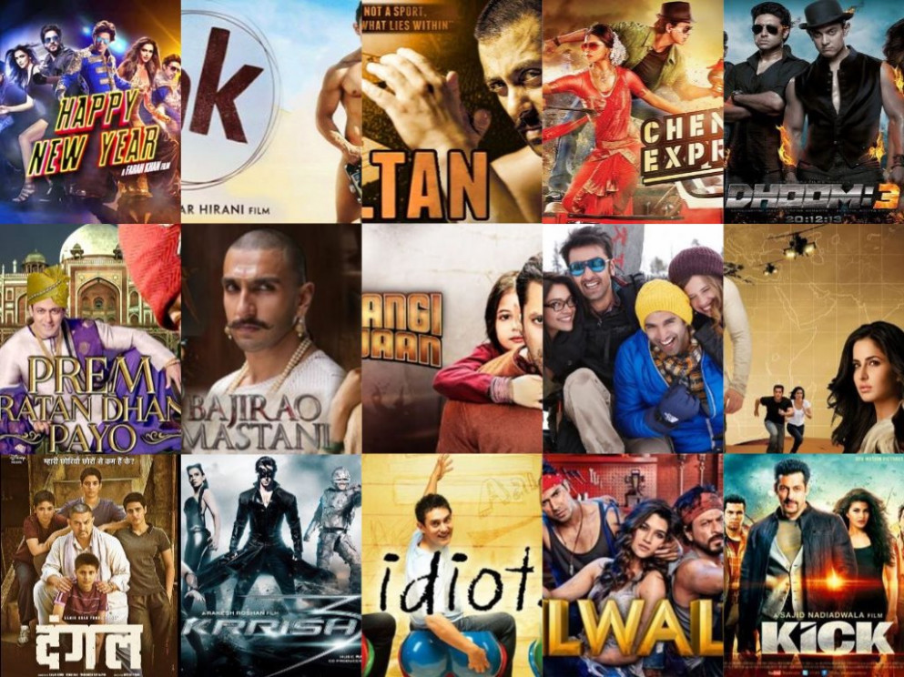Top 15 Bollywood Movies Of All Times (By Their Gross Box ...