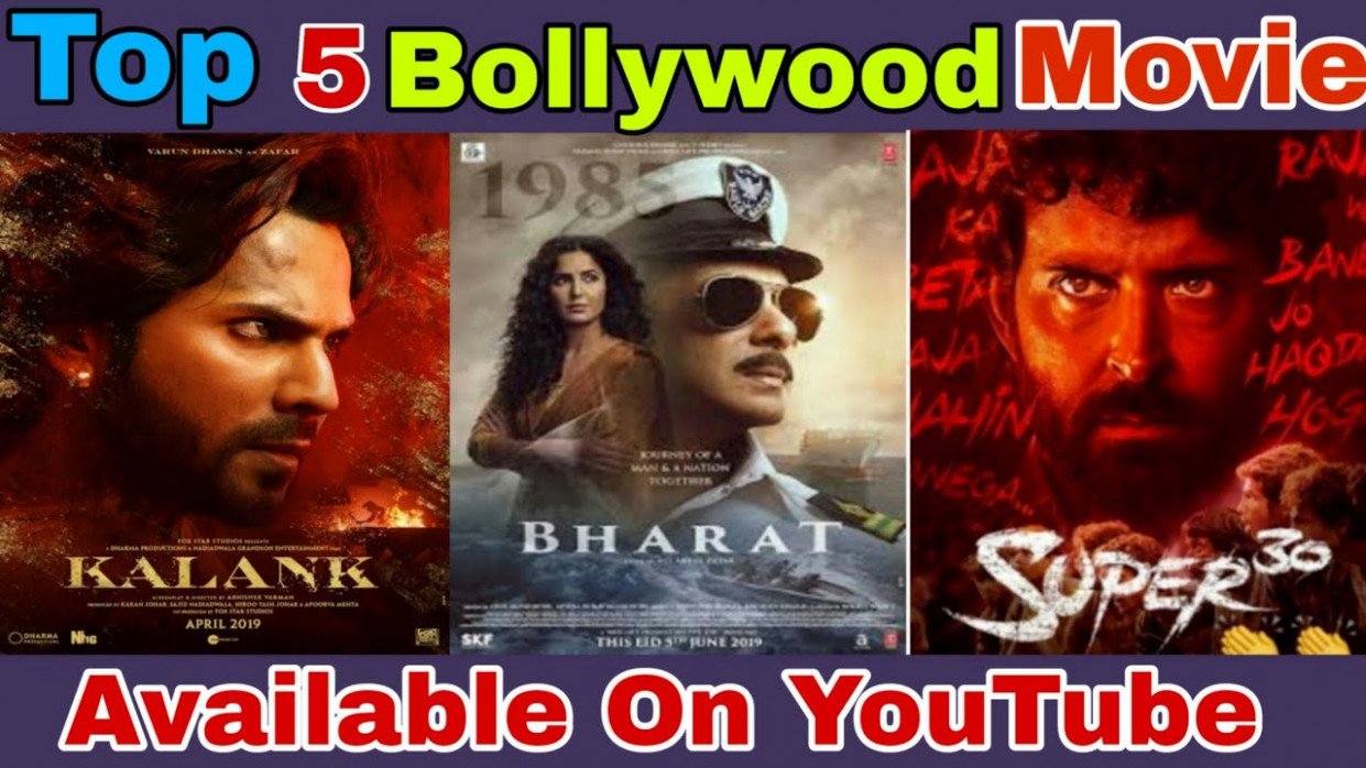 Top 5 Bollywood Movie | New Bollywood Movie 2019 ...