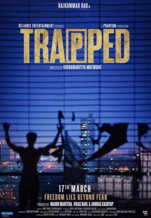 Trapped 2017 Hindi 800MB DVDRip 720p