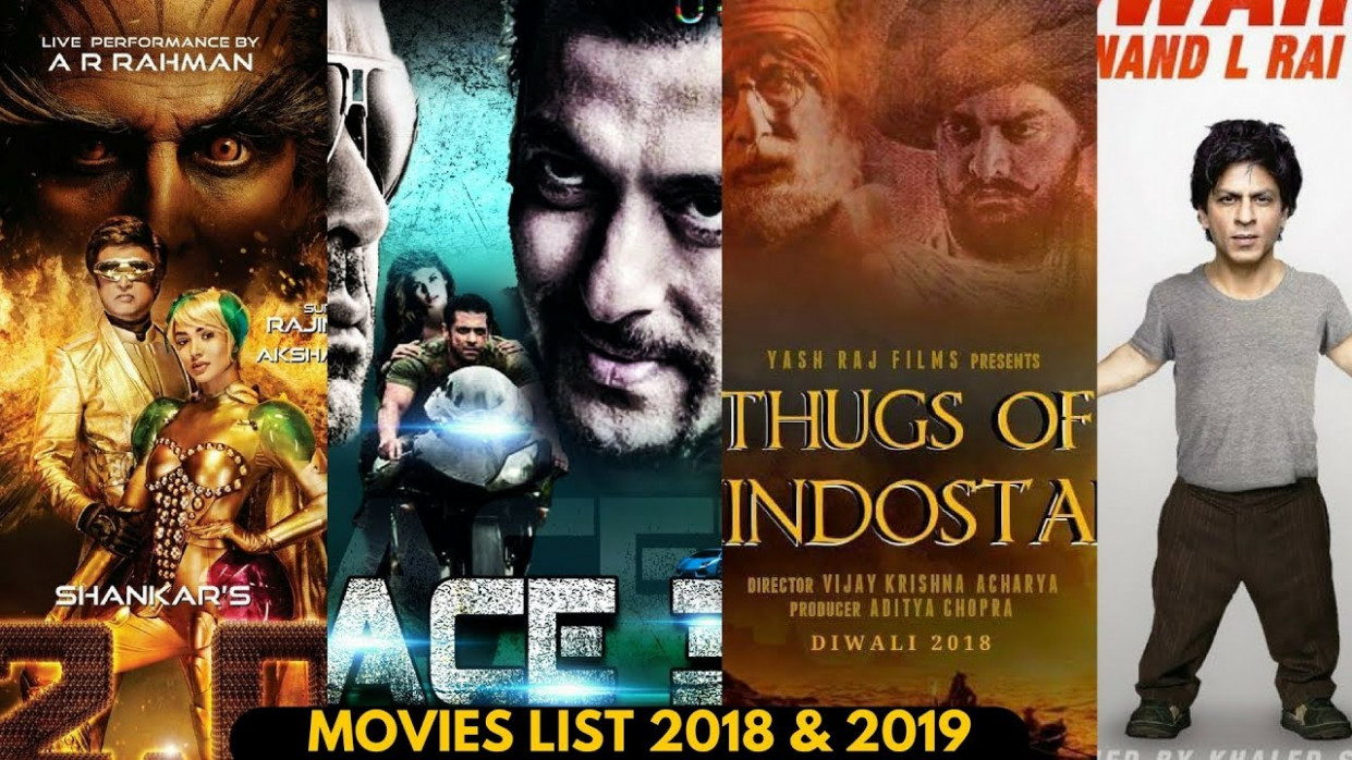 Upcoming Movies List 2018, 19, 20 With Movies Name ...