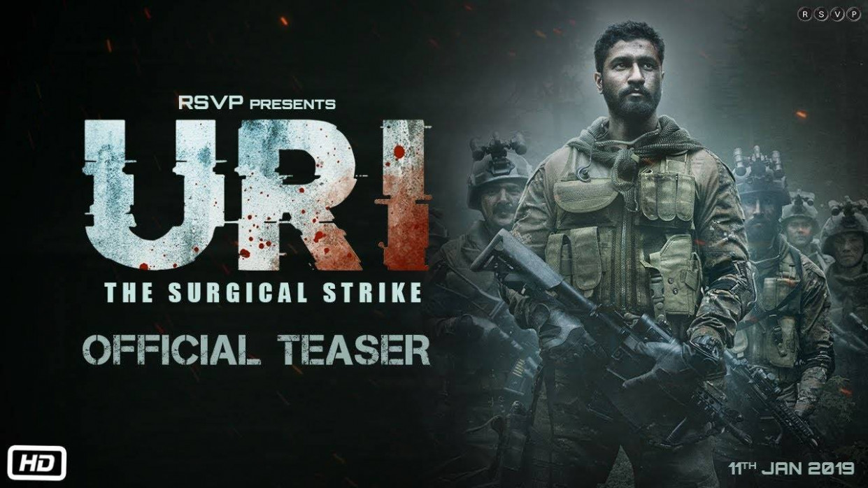 URI: The Surgical Strike - Official Teaser | Hindi Movie ...