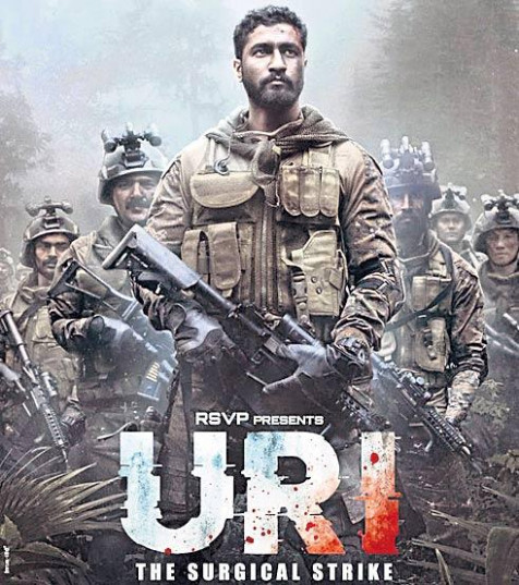 Uri: The Surgical Strike poster 220916 - ID - Desimartini ...