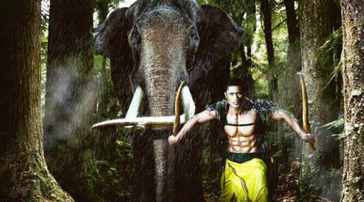 Vidyut Jammwal pays tribute to Lord Ganesha in Junglee ...
