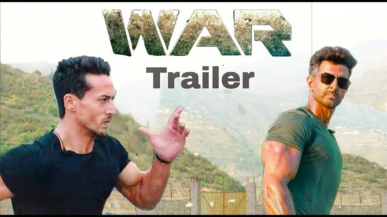 WAR Movie Trailer | Tiger Shroff | Hrithik Roshan | Vaani ...