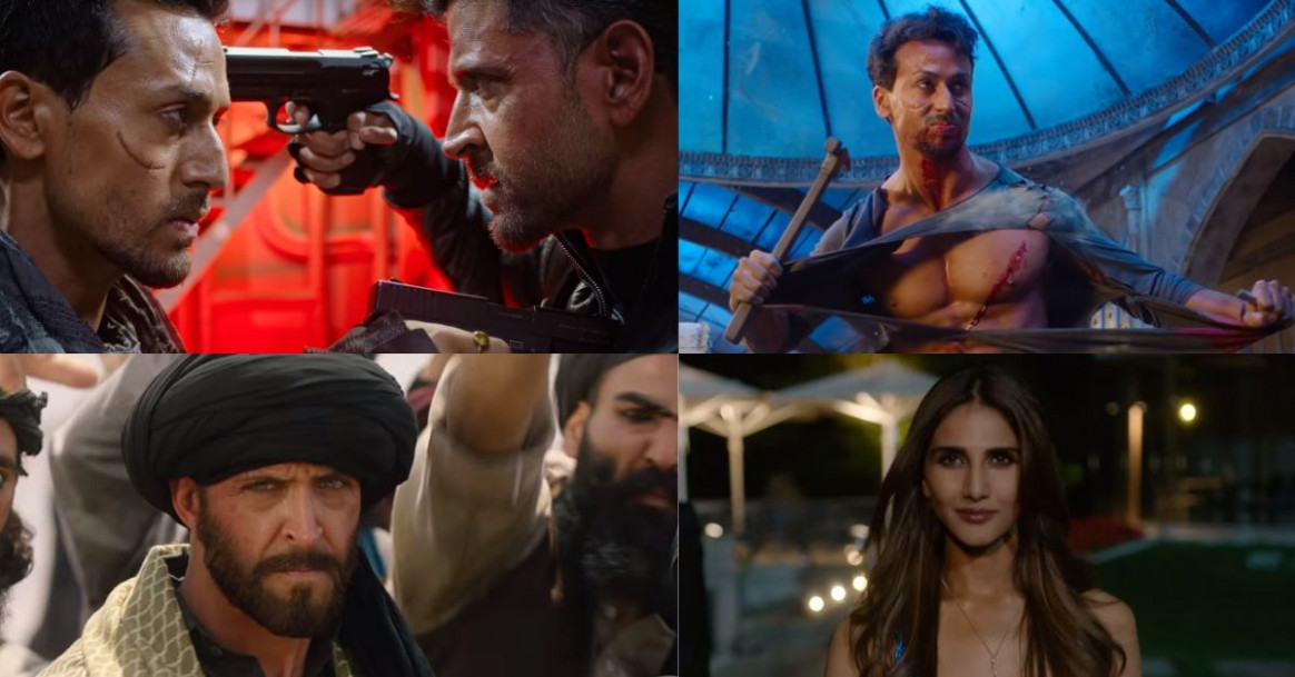 WAR trailer: Hrithik Roshan and Tiger Shroff's face off ...