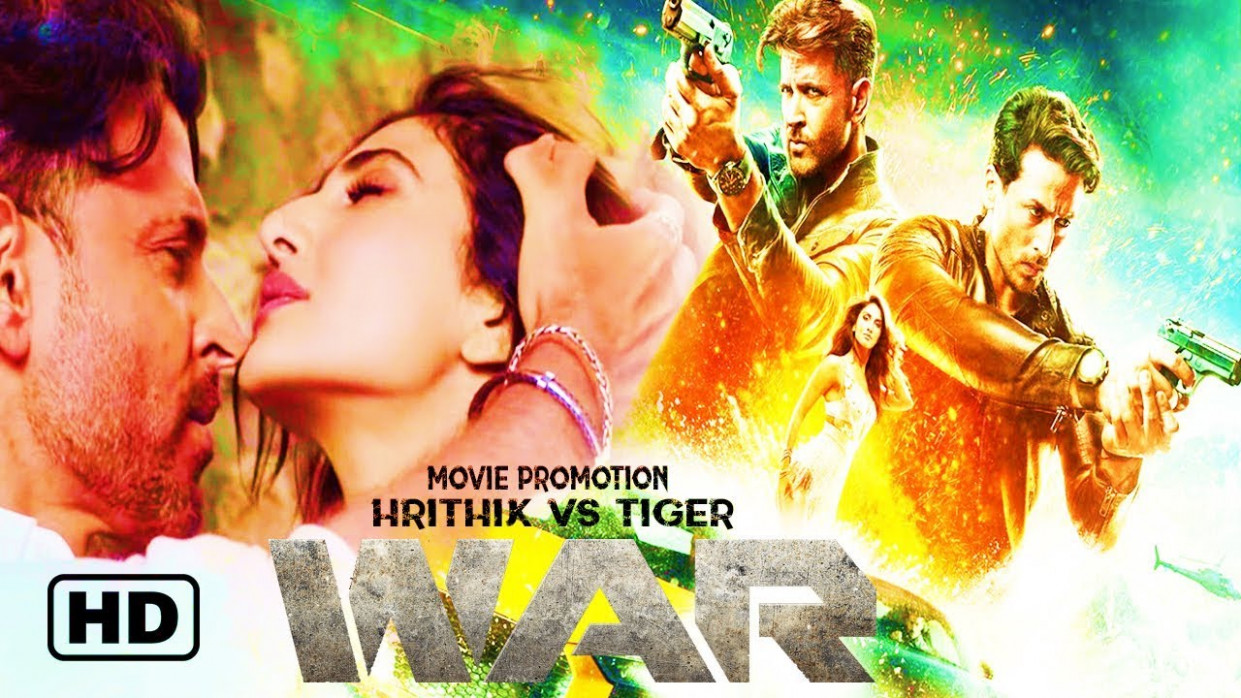 #War | War New Bollywood Hindi Movie Promotion | Hrithik ...