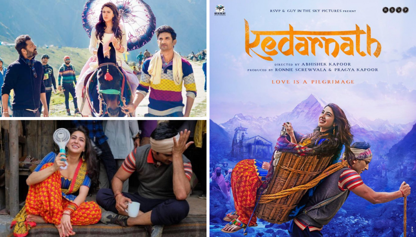 Watch New Bollywood Movie Trailer Of 'Kedarnath'