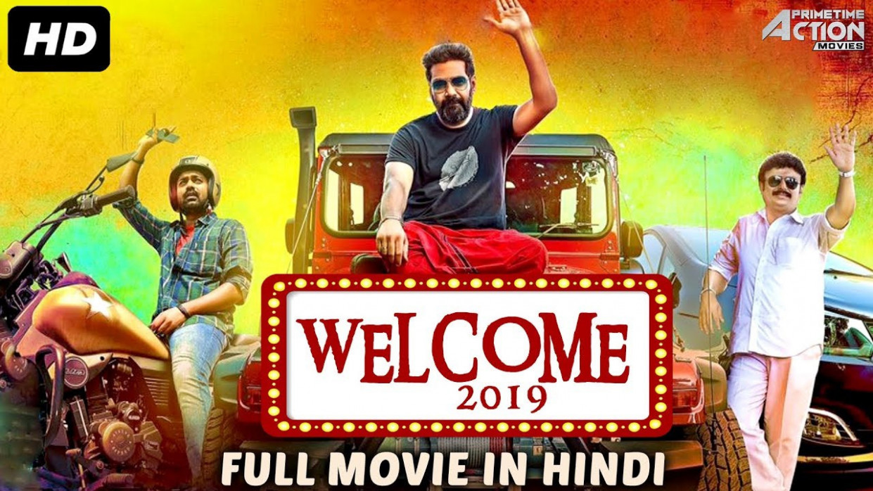 Welcome 2019 Hindi Dubbed Full Movie 480p 300mb Hdrip Tollywood Icon