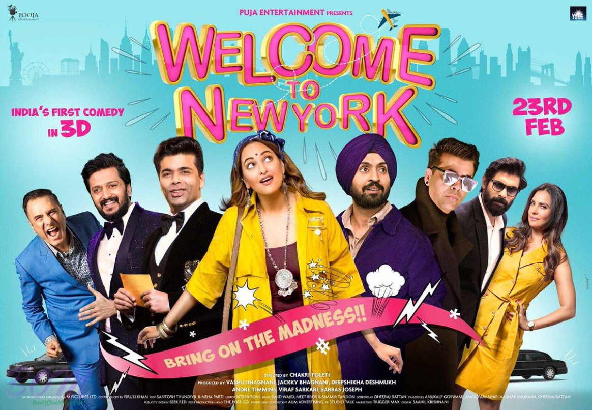 Welcome to Newyork movie poster - Bollywood latest photos news