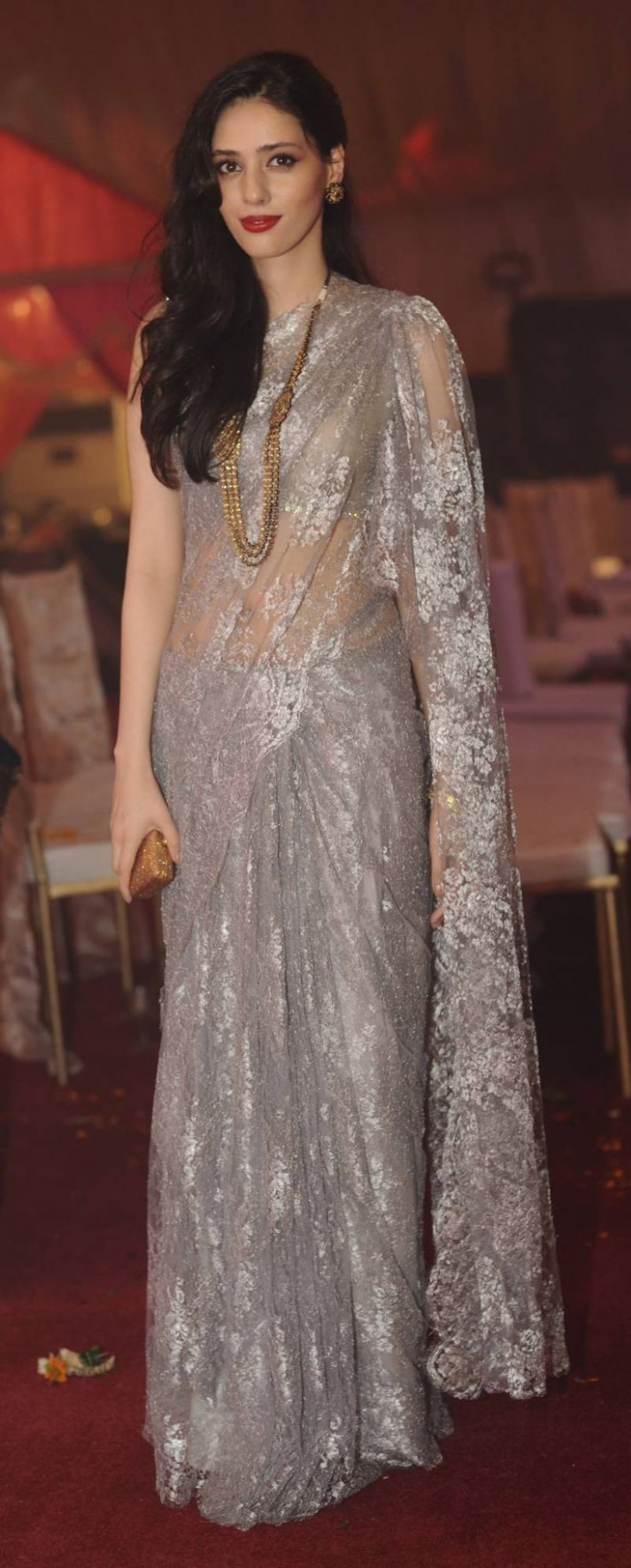 10 best Chantilly Lace Saree images on Pinterest