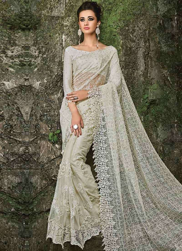10 Stunning Bridal Saree Colors Apart From Red - TBG