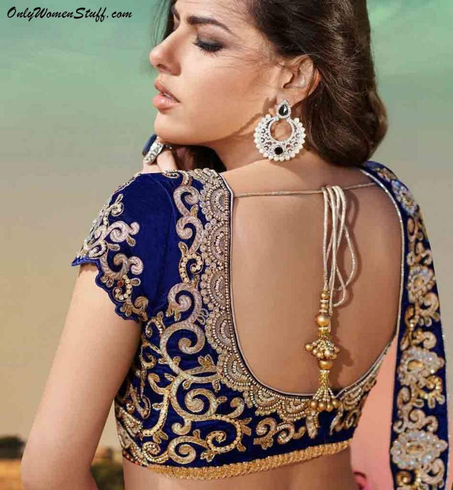 100+ Latest Blouse Designs with Back & Neck Images