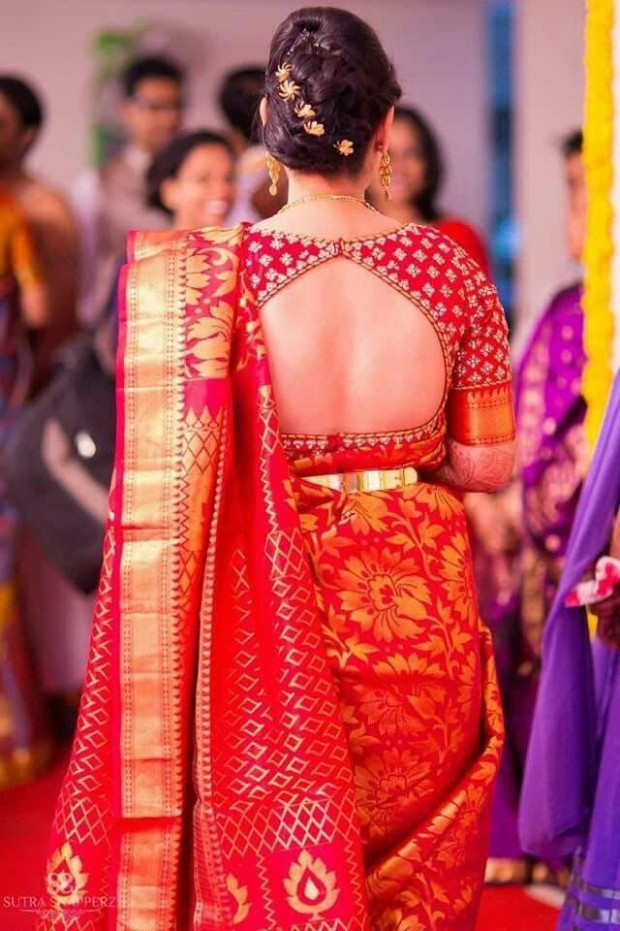 1011 best Bridal Silk Sarees images on Pinterest  Silk