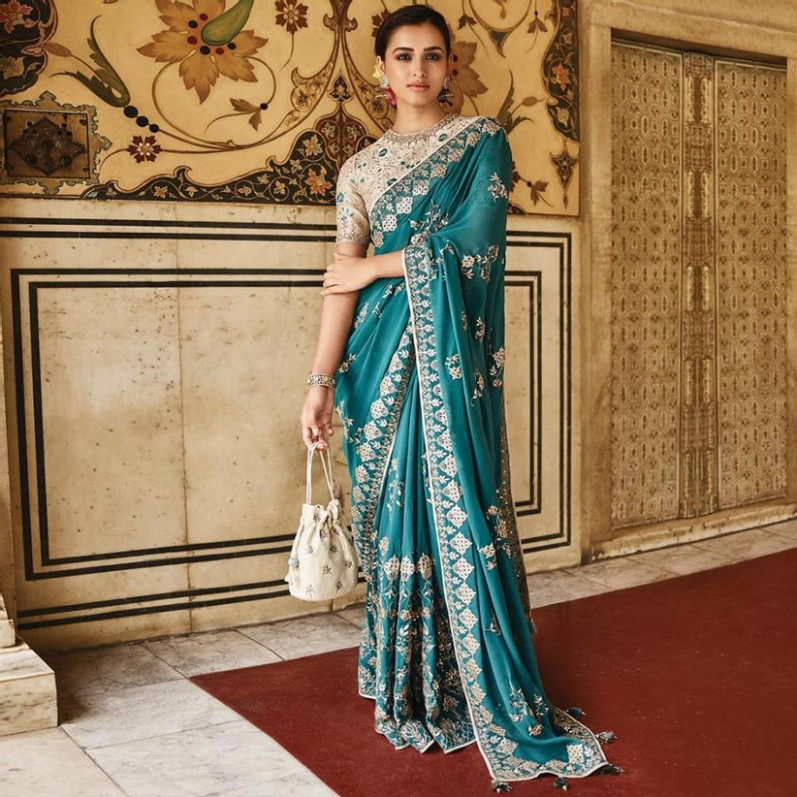 11 Stunning Cocktail Sarees That Would Make You Look Like