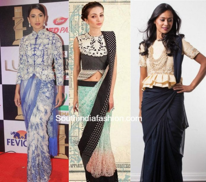 11 Tops You Can Also Wear As A Saree Blouse –South India