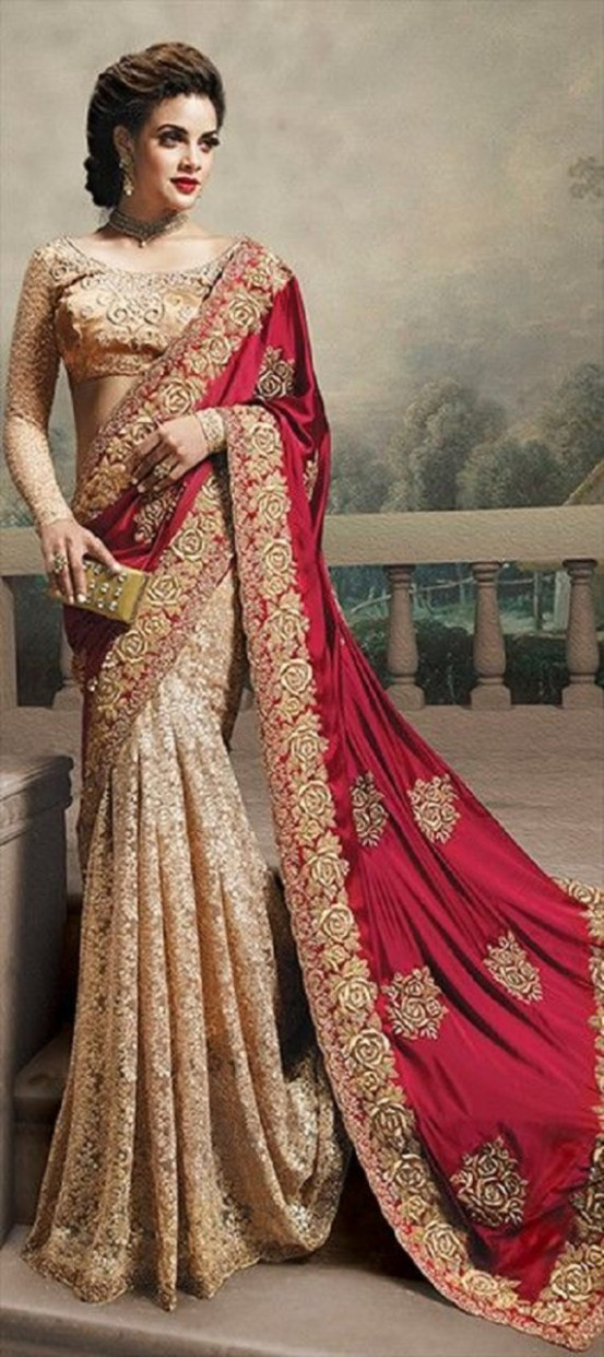 12 Most Pinned Wedding Sarees of 2014-15 – India's Wedding