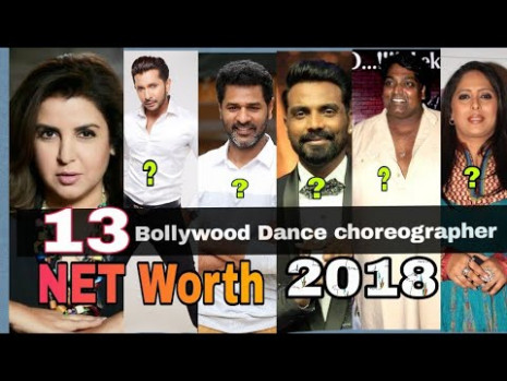 13 Most dance Choreographers of Bollywood and Their Net