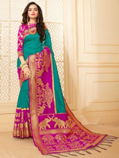 15 Best Online Sarees Shopping Sites in India (2020) with