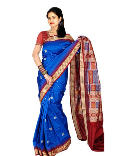 15 New Collection of Sambalpuri Saree Designs  Styles at life