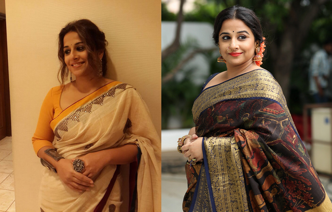 15 TIMES VIDYA BALAN MAKE US FALL IN LOVE WITH HER SAREES!