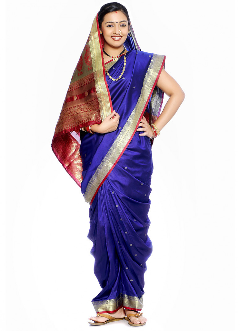 15 Traditional Nauvari Sarees With Images  Styles At Life