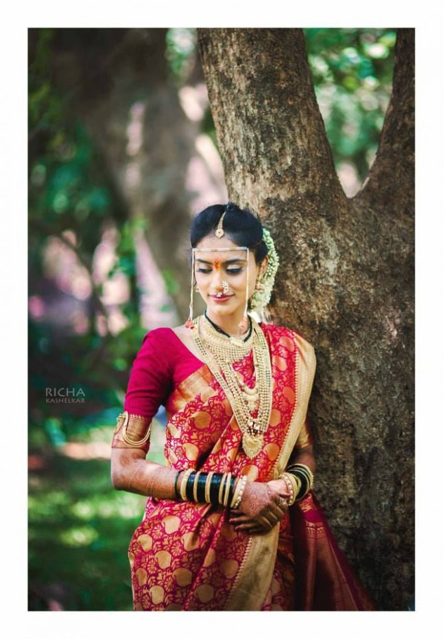 17 Best images about Marathi Saree ideas on Pinterest