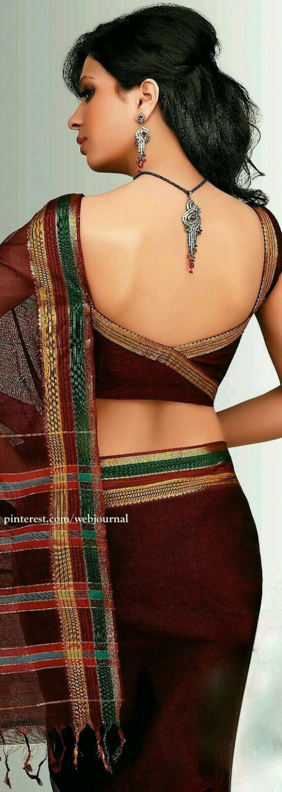 198 best images about Modern sexy saree blouses on