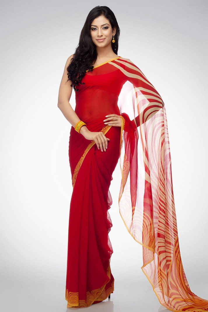 20 Stylish designer sarees by Satya Paul  Indian Makeup