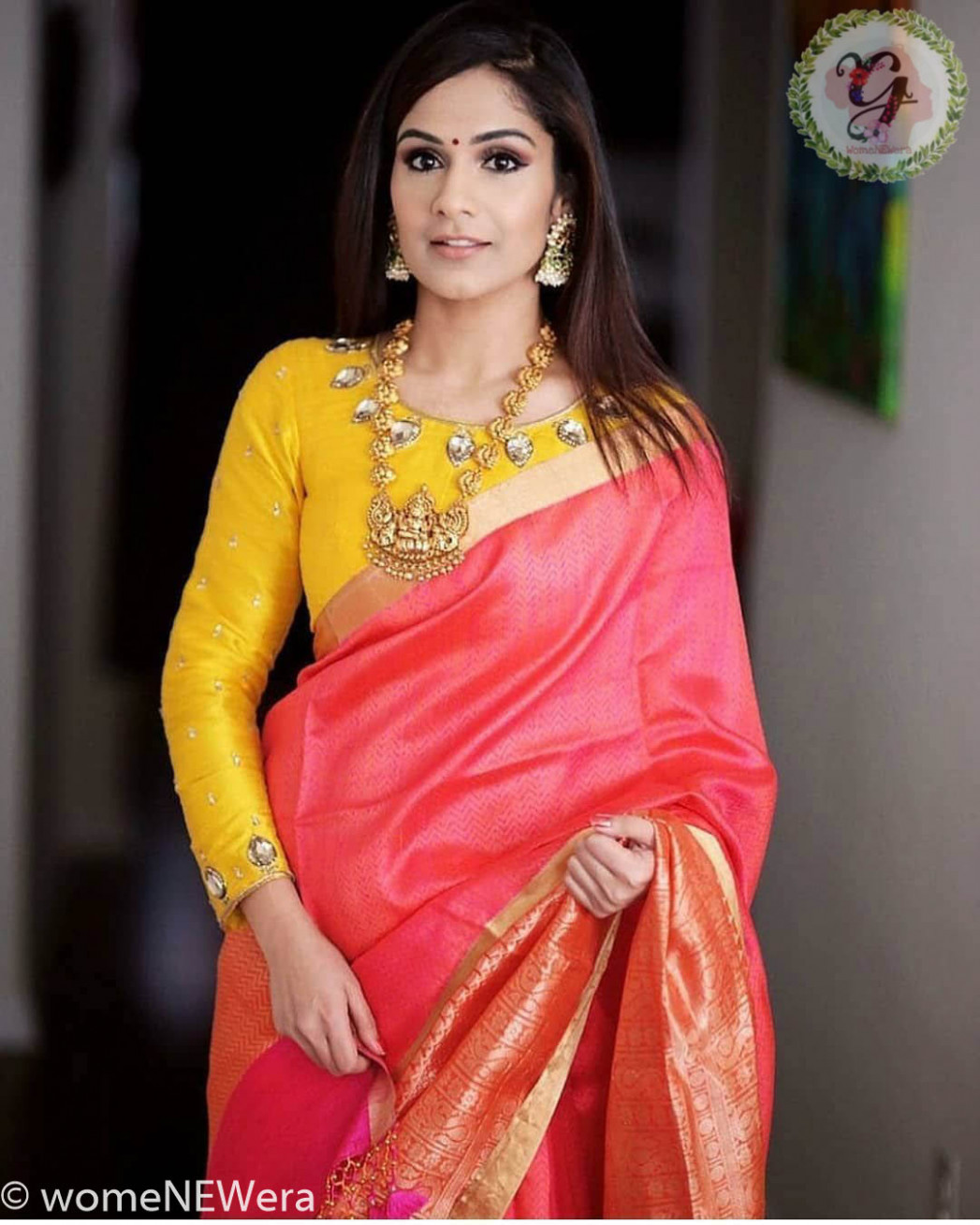 20 Ways to Style Your Sarees with Full Sleeves Blouse