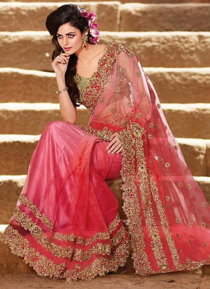 23 Latest Indian Wedding Saree Styles to Try this Year