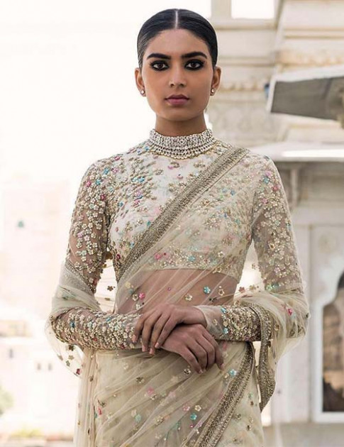 24 Amazing and Latest Saree Blouse Designs for Wedding