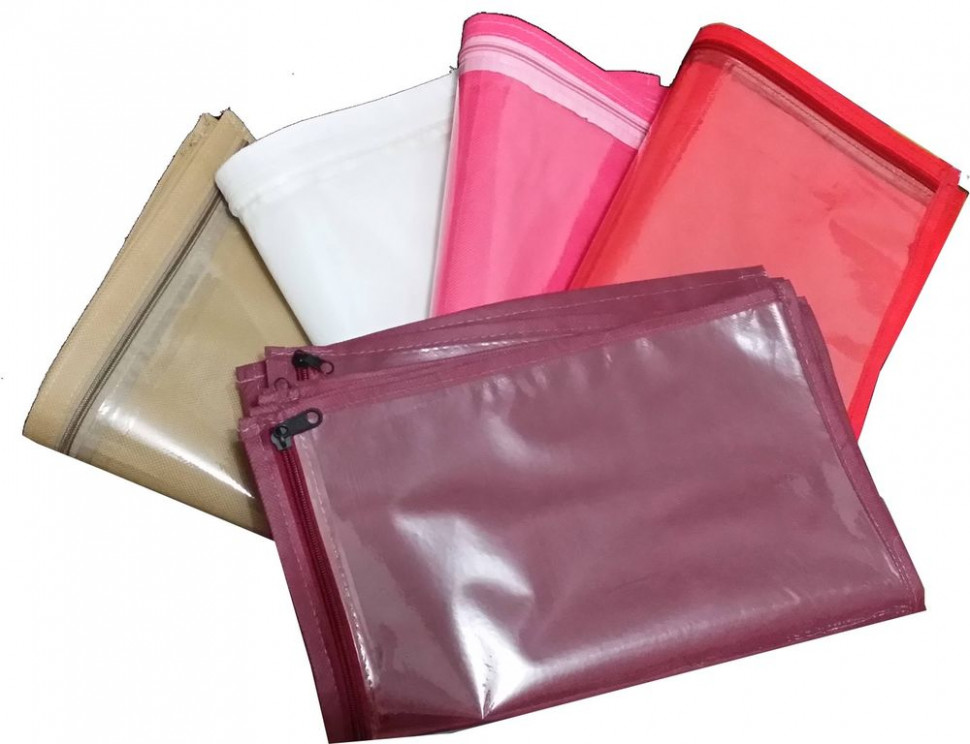 25 Pack Sari Saree Cover Bags Packaging Storage One Side