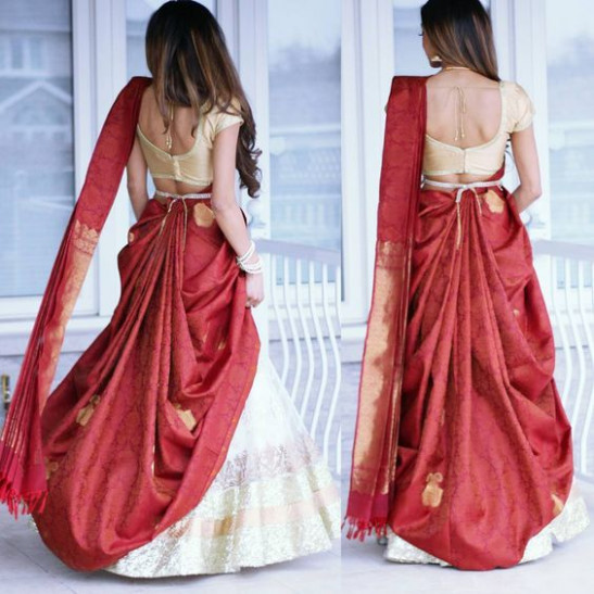 25 Ways To Drape Your Saree In The Most Stylish