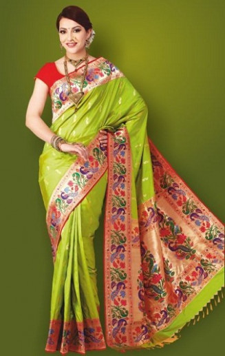 30 Beautiful Paithani Sarees Collection With Pictures