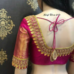 30+ Bridal Blouse Designs for Silk Sarees & Pattu Sarees