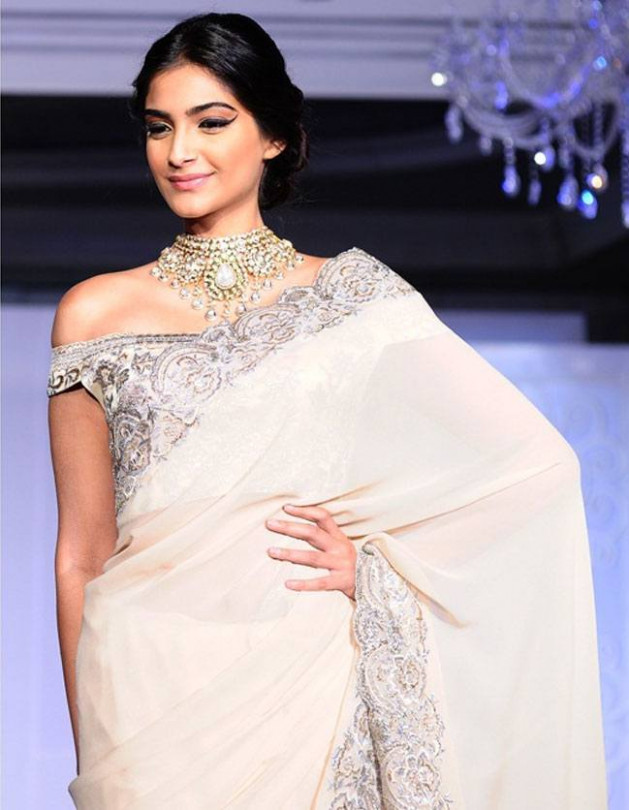 30 Times We Loved Sonam Kapoor In Saree