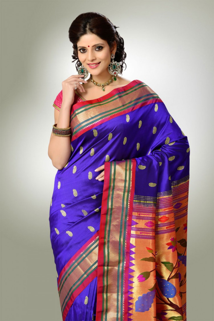 30 Tremendous Paithani Sarees With Pictures  Styles At Life
