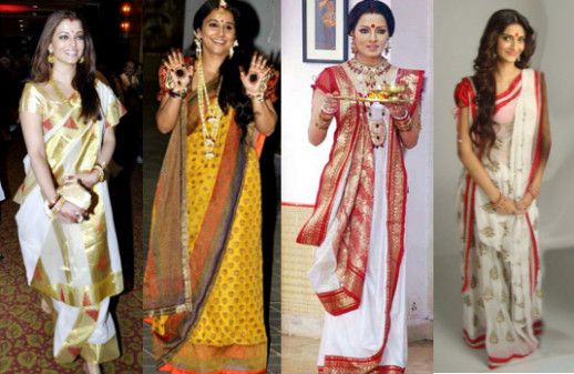 30 Types of Saree Draping from Different States – Suzy Smith