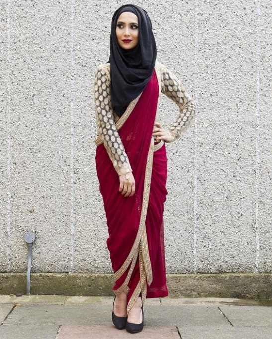 30 Ways to Wear Hijab with Indian Ethnic Wear