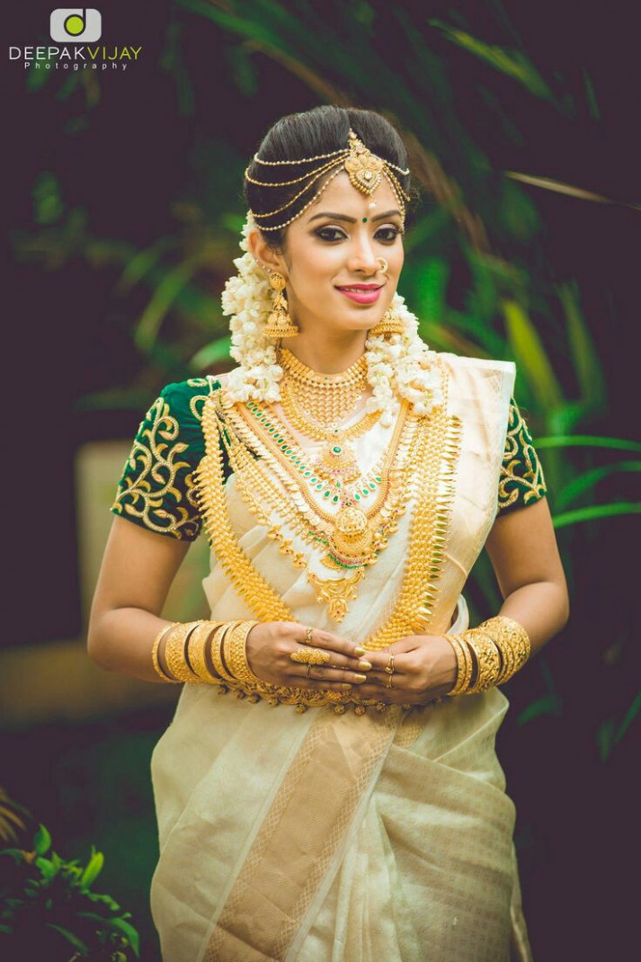 35 Gorgeous Kerala Saree Blouse Designs to try this year