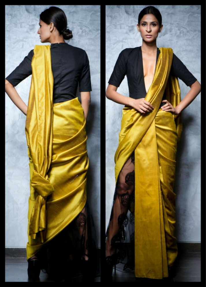 4 Fancy Saree Draping Styles - From Top Fashion Designers