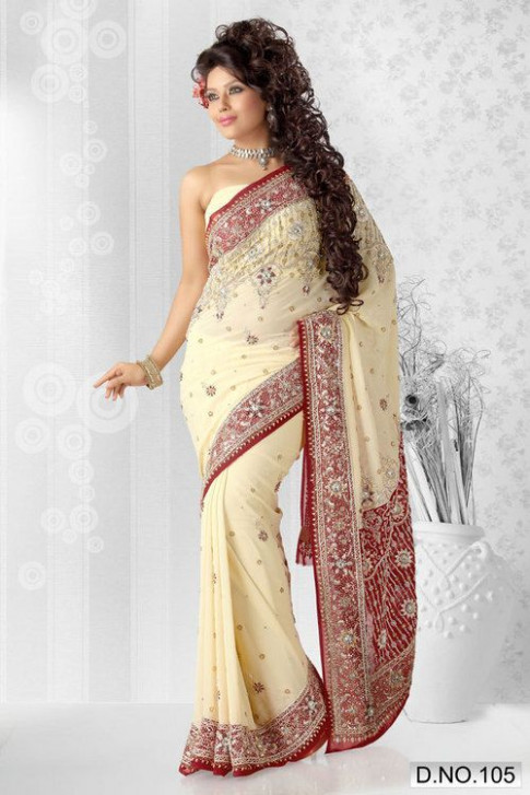 45 best wedding sarees images on Pinterest  Indian bridal
