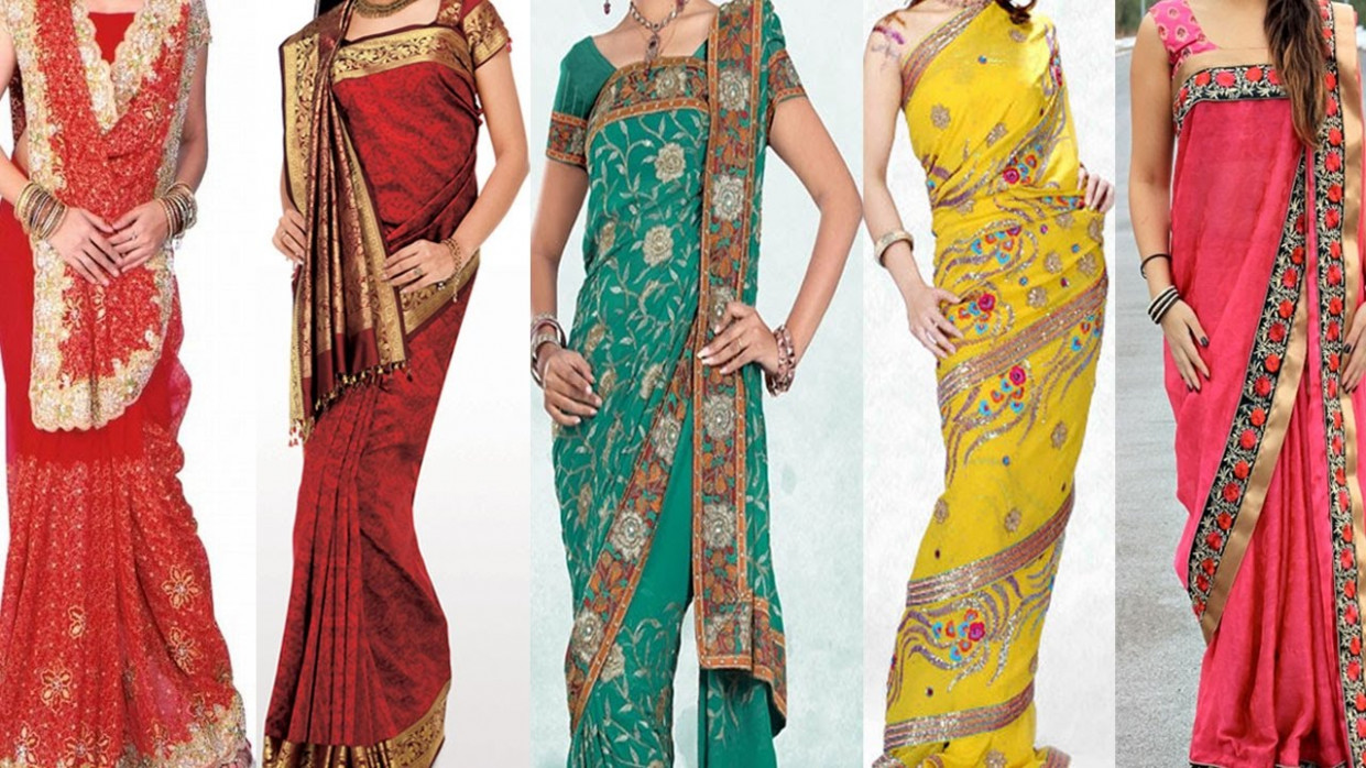 5 Different Ways of Wearing Saree For Wedding to Look Slim